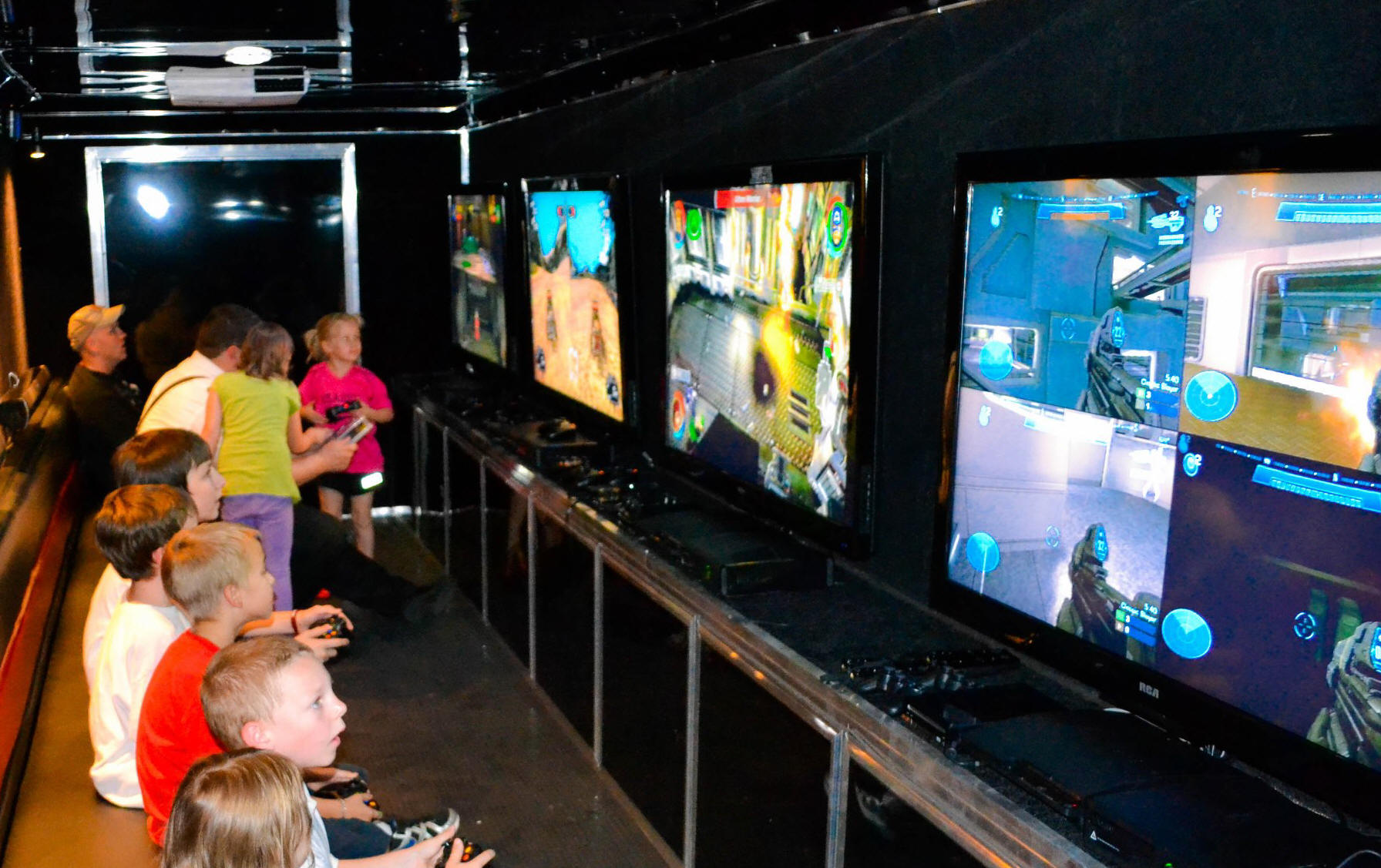 Massachusetts Video Game Truck Gallery Ultimate Mobile Gaming