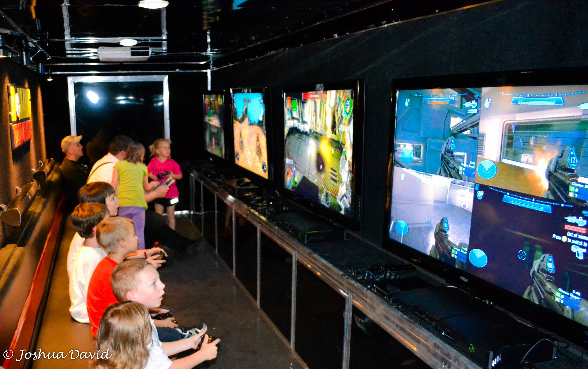 Video Game Truck Laser Tag Birthday Party In Massachusetts