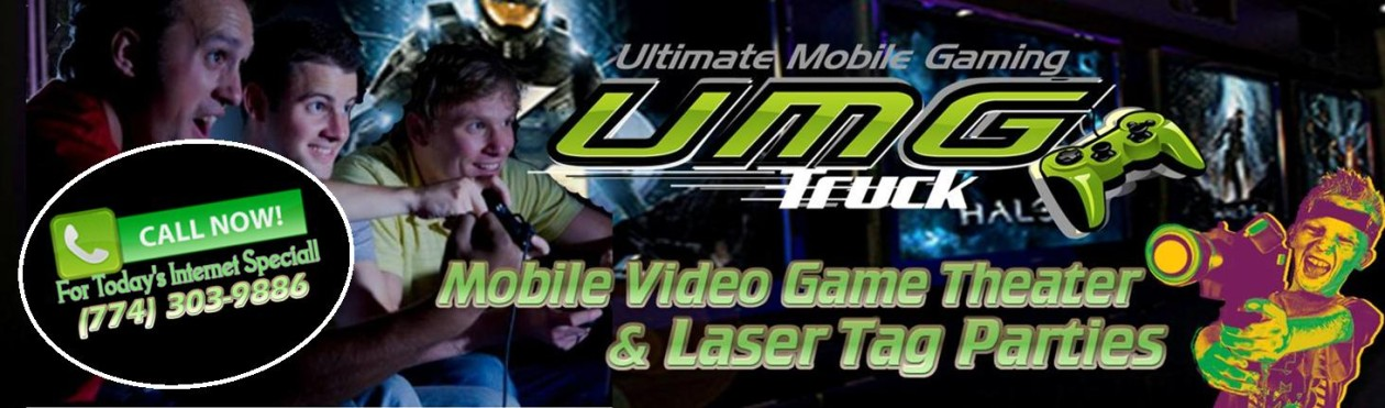 Ultimate Mobile Gaming Truck – Video Game Truck & Laser Tag Central MA Boston South Shore