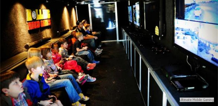 Video Game Truck Amp Laser Tag Birthday Party In Massachusetts